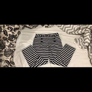 Size 8 Express Striped Pants